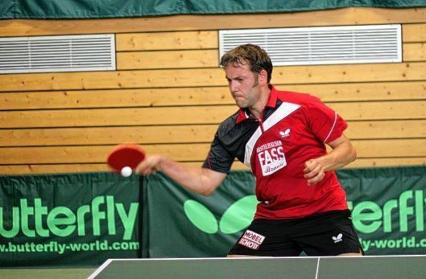 Thomas Löchner avancierte zum Spieler des Tages. Mit zwei hart erkämpfen Siegen gegen seine in der ...