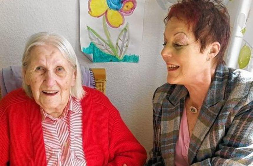 Ihren 90. Geburtstag feierte gestern in Bad Mergentheim Margot Wahl. Bürgermeisterstellvertreterin ...