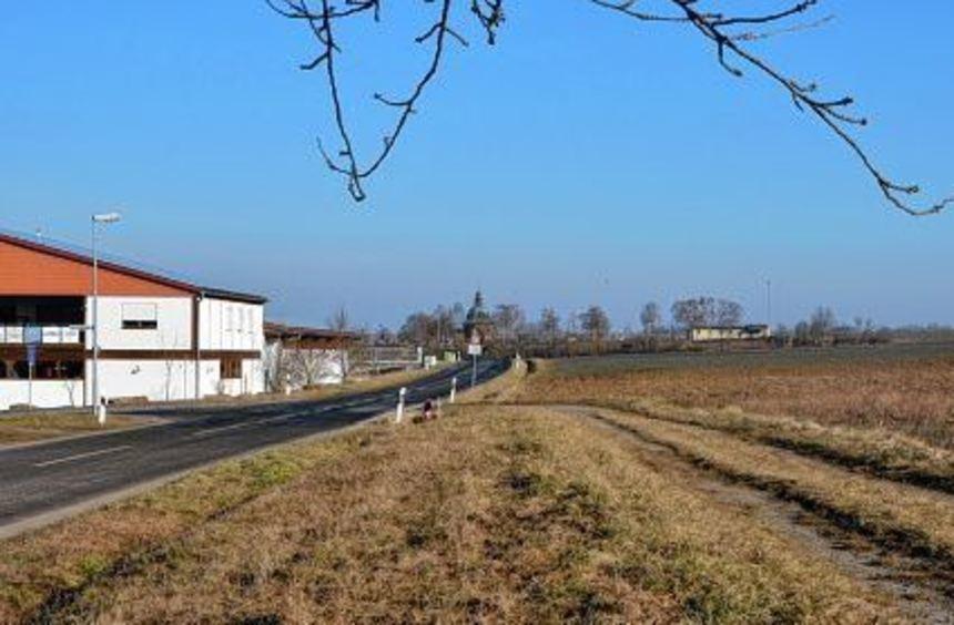 Ein gemeinsamer Gewerbepark von Großrinderfeld und Würzburg kann auf dem 20 Hektar großen Gelände ...
