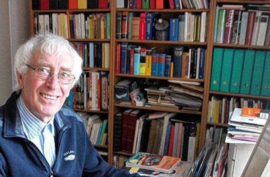 Der Pädagoge und Chronist Peter Schmackeit feiert heute in der Klinge seinen 80. Geburtstag.