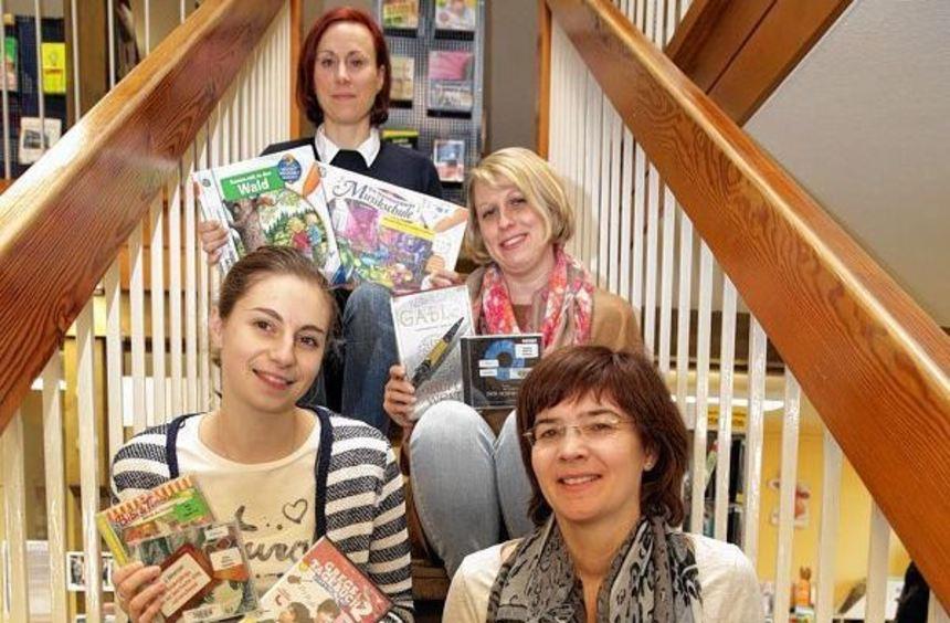 Silke Mergenthaler, Anna Stengler, Angela Hager und Katja Klein-Gaa (von oben nach unten) ...