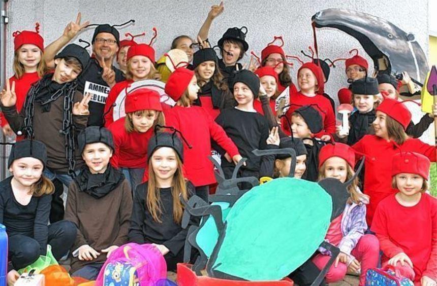 Ein kurzweiliges Musical für die ganze Familie präsentiert der X-berger Kinder- und Jugendchor ...