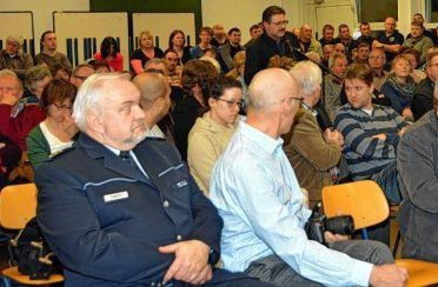 Sehr gut besucht war die Sitzung der Stadtteilbeiräte Wartberg und Reinhardshof am Donnerstagabend, ...