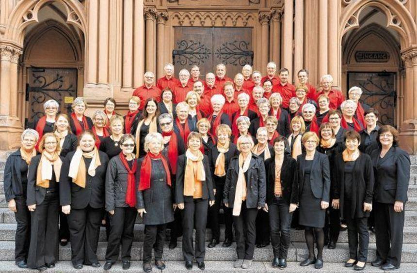 Aktive des gemischten Chors und der New Harmonists freuen sich auf das Jubiläumsfest, das am ...