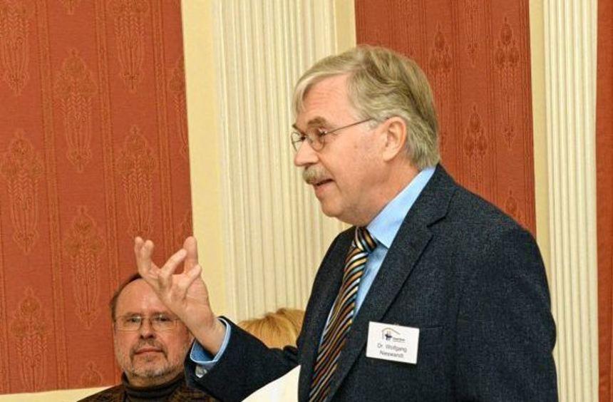 Dr. Wolfgang Nieswandt, Vorsitzender des Hospizvereins.