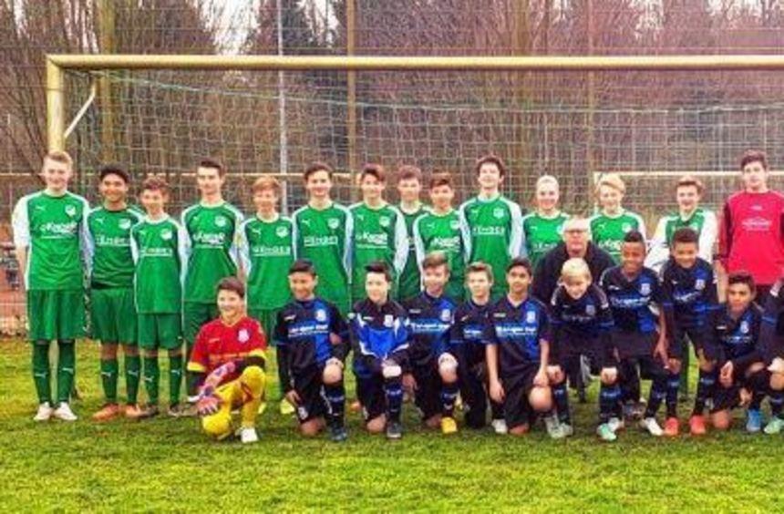 SGH-C-Junioren trafen auf die U 13 des FSV Frankfurt - und beide Teams lieferten sich einen offenen ...