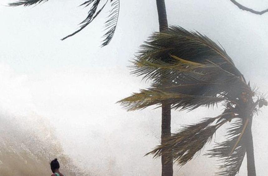 """Eine Schneise der Zerstörung hat der Zyklon """"Pam"""" auf der Pazifik-Inselgruppe Vanuatu hinterlassen. ..."""