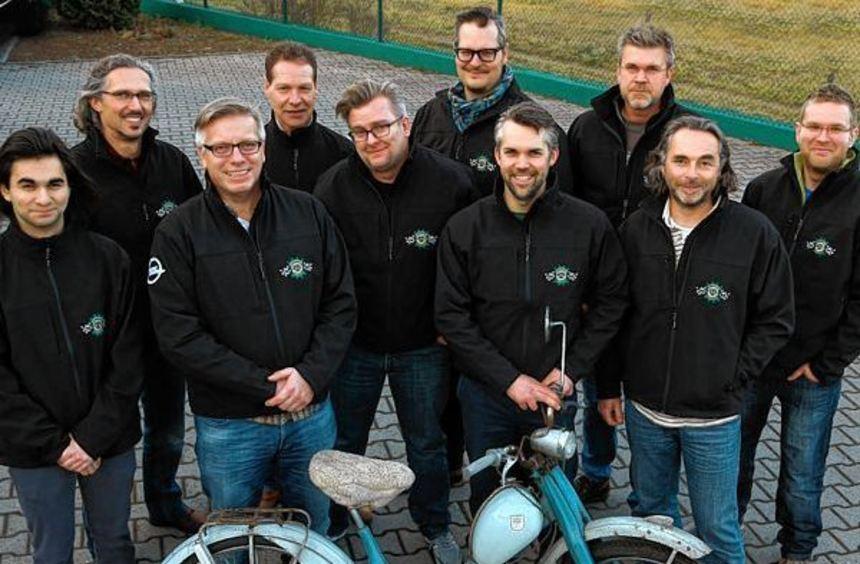 """Eine flotte Truppe: Die Freunde Historischer Fahrzeuge haben den Verein """"Lampertheim Classics"""" ..."""