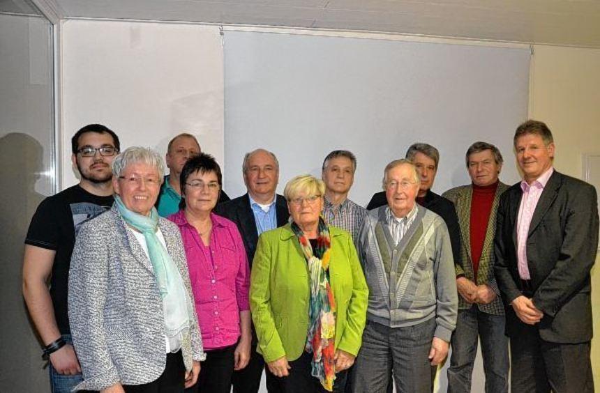Während der Mitgliederversammlung des Turnvereins Einhausen wurden zahlreiche Mitglieder für ihre ...