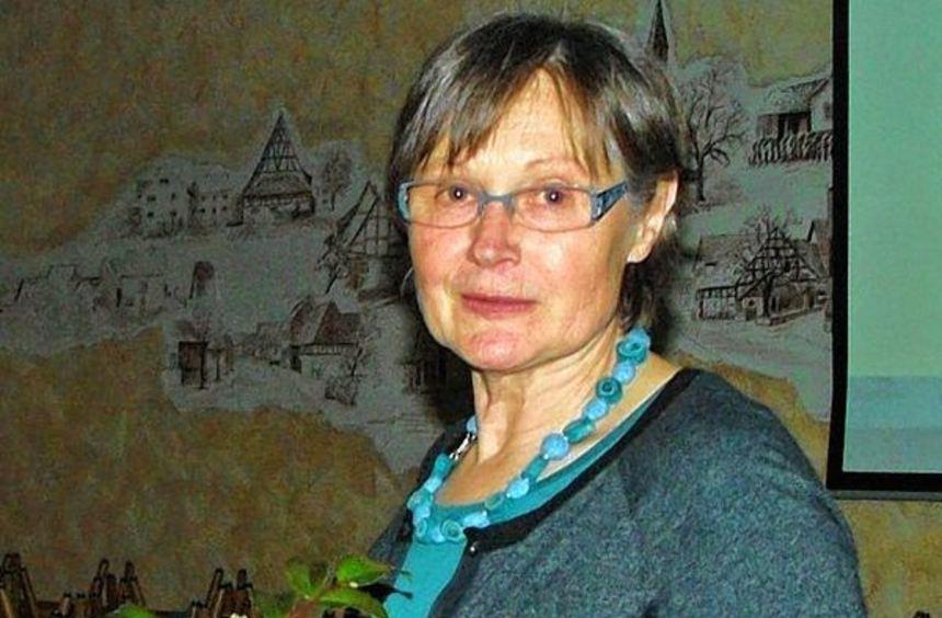 Luise Denninger referierte über Würz- und Heilkräuter.