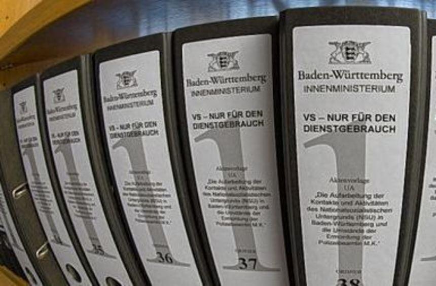 Die Aktenberge für den NSU-Ausschuss im baden-württembergischen Landtag werden immer länger.
