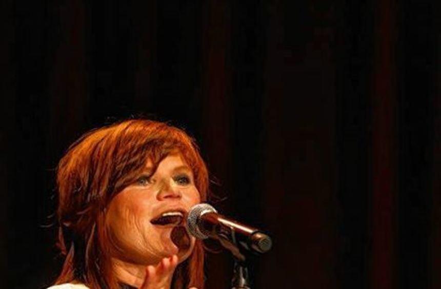 Überzeugte im Mannheimer Capitol: die Sängerin Pe Werner.