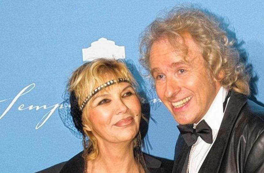 Thomas Gottschalk mit seiner Frau Thea im Vorjahr beim Semperopernball in Dresden. Seine Frau ...