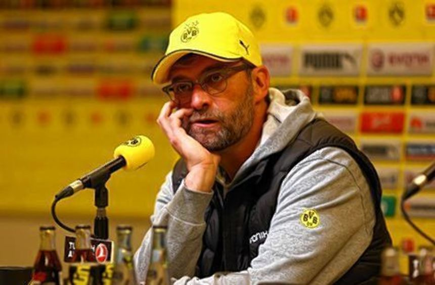 Nur noch drei Punkte Rückstand auf Schalke: BVB-Trainer Klopp.