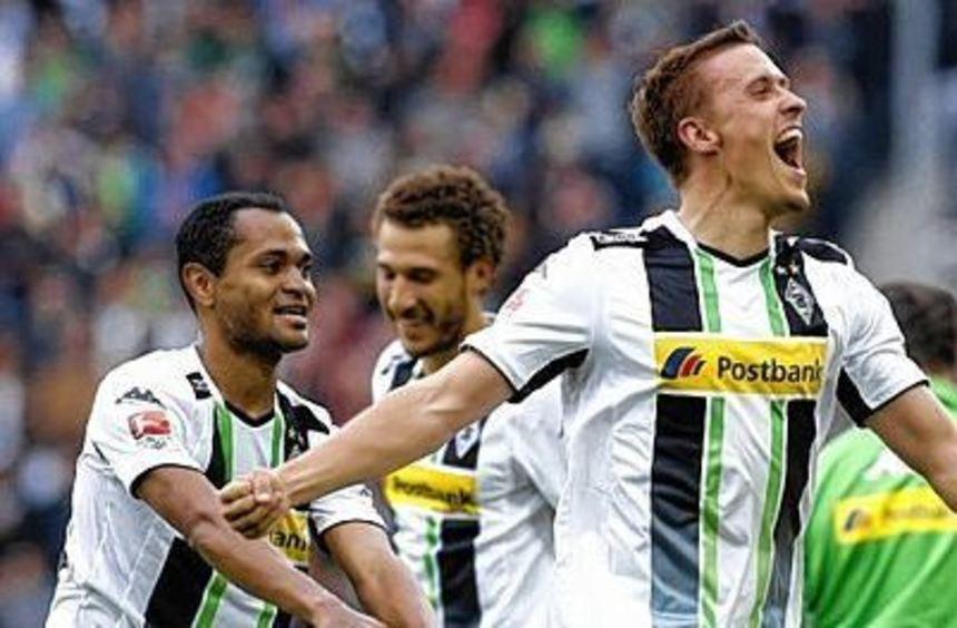 Kurz vor Schluss erzielte Max Kruse das entscheidende 1:0 gegen Wolfsburg - der Jubel war ...