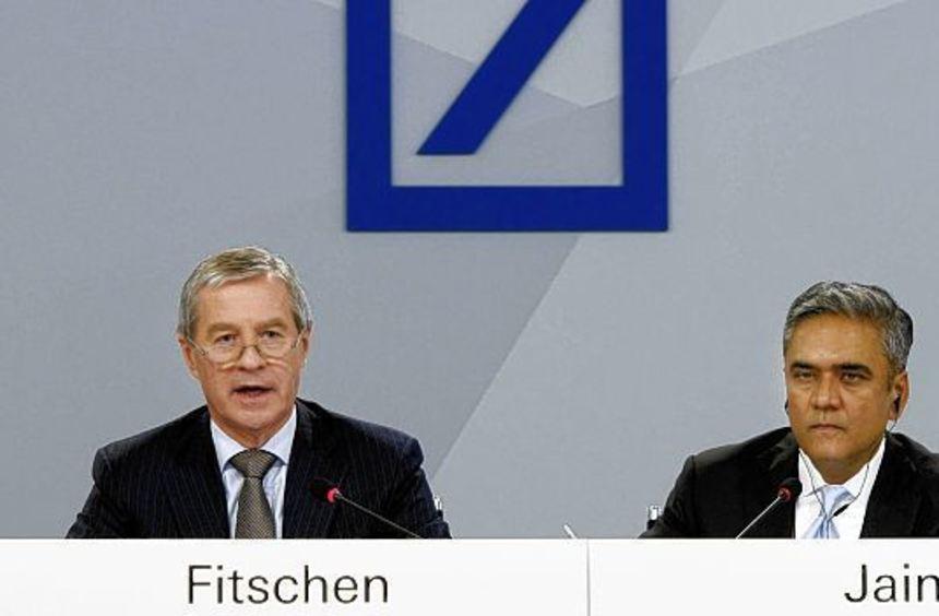 Heute Vormittag wollen die Deutsche-Bank-Chefs Jürgen Fitschen und Anshu Jain Details zu ihrer ...