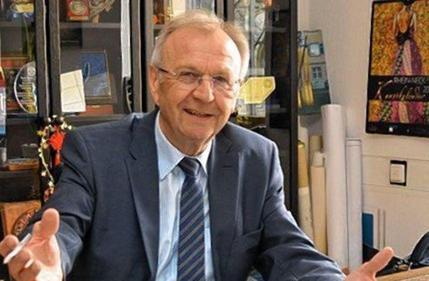 Dieter Mörlein würde gerne länger Bürgermeister bleiben.