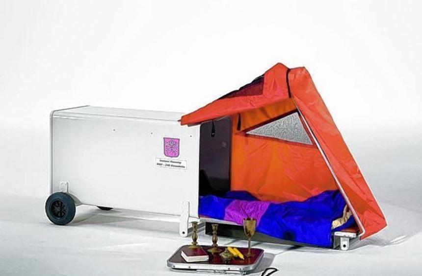 """Neue Ausstellung in Aub: """"Pilger und andere Nomaden""""."""