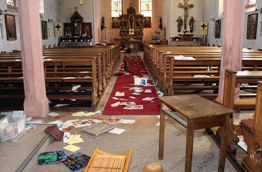 Bildergebnis für Kirche verwüstet
