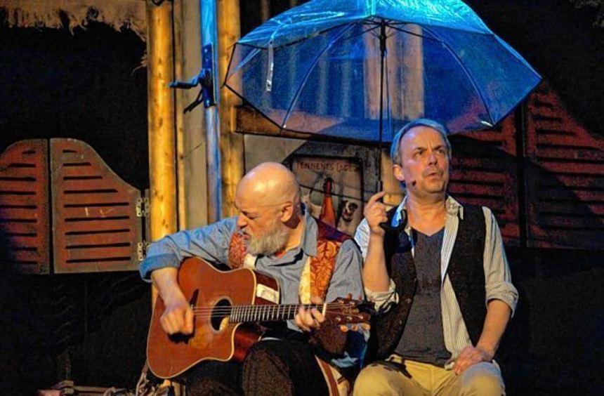 Noch immer ziemlich lustig: Gerd Knebel (links) und Henni Nachtsheim in ihrem aktuellen ...