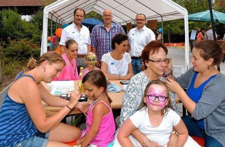 Spiel und Spaß wurden beim ersten Sommerfest der Eppelheimer Liste im Stadtpark geboten.