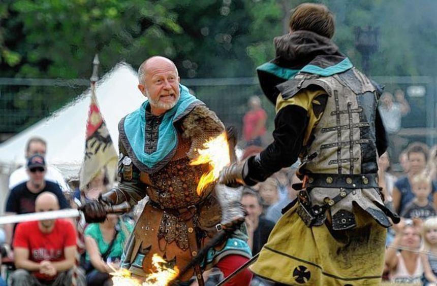 """Beim """"Mittelalterlich Phantasie Spectaculum"""" im Domgarten will unter anderem die tschechische ..."""