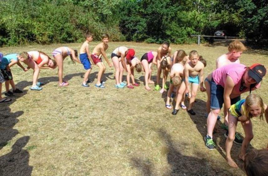 Jede Menge Spiel und Spaß gab es beim Sommerzeltlager der DLRG Königheim am Badesee in Freudenberg.