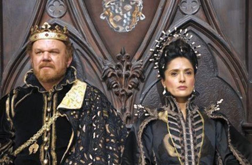 John C. Reilly und Salma Hayek als märchenhaftes Königspaar.