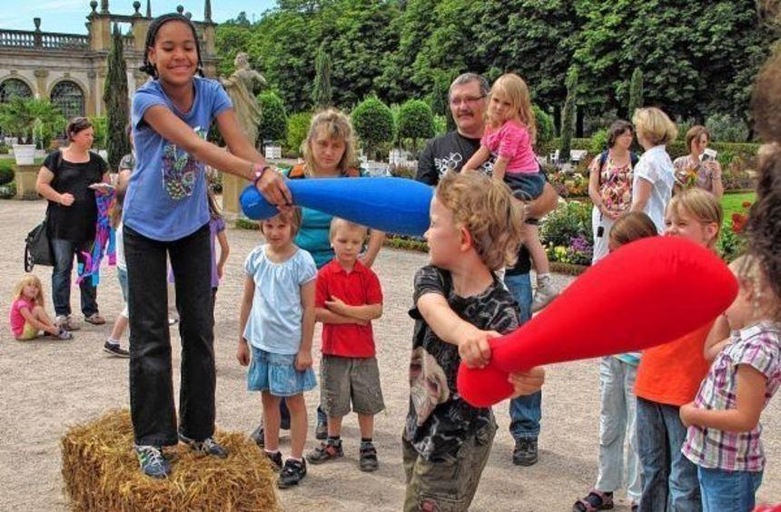 Spannende Abenteuer mit bekannten Märchen sind beim Märchenfest am Sonntag, 30. August, im ...