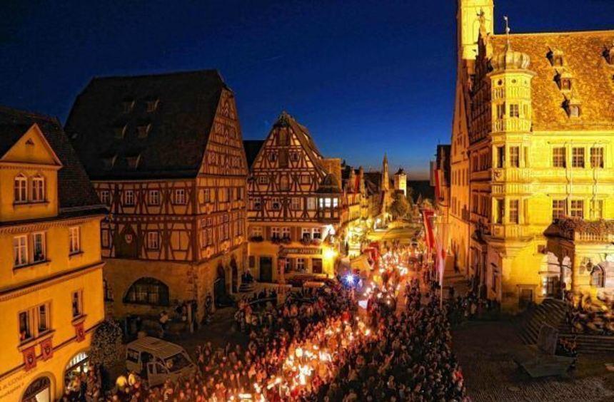 Die Reichsstadt-Festtage stehen Anfang September in Rothenburg ob der Tauber an.