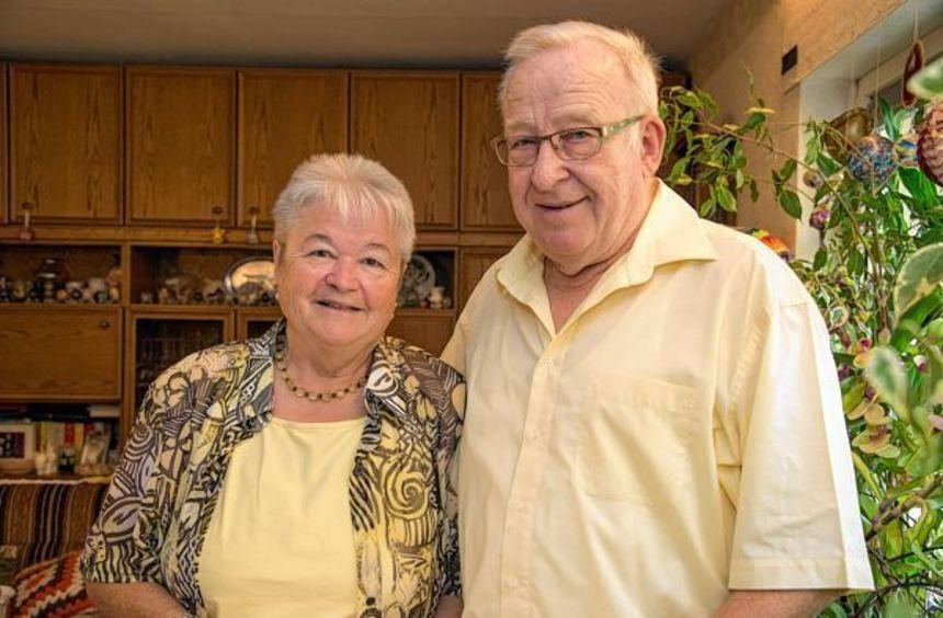 Jubelpaar: Ursula und Johannes Stumpf sind seit 50 Jahren verheiratet.
