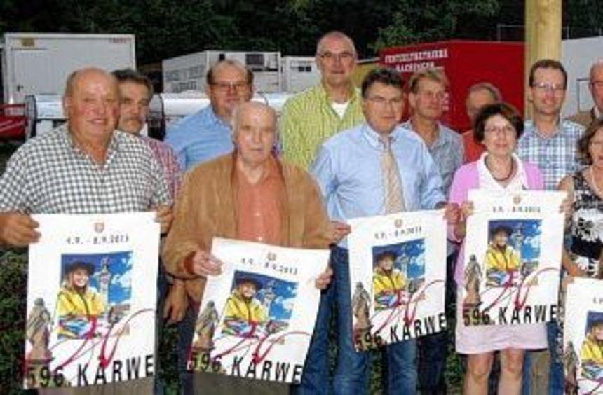 Bürgermeister Klaus Kornberger stellte im Rahmen des Pressegesprächs Plakat und Programm der 596. ...