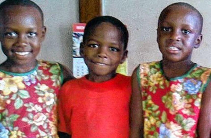 Die farbenfrohen Kleider aus Höpfingen sorgen in Uganda für strahlende Kinderaugen.
