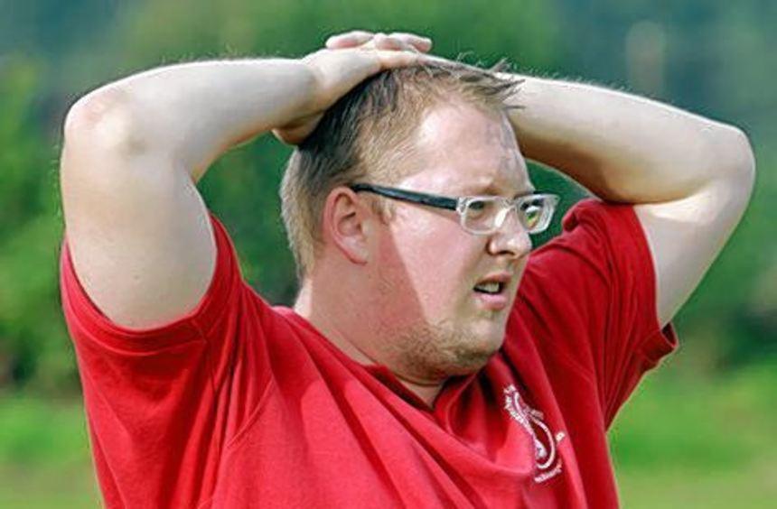 Bobstadts Trainer Tobias Kleiner hatte bisher nicht viel zu lachen.