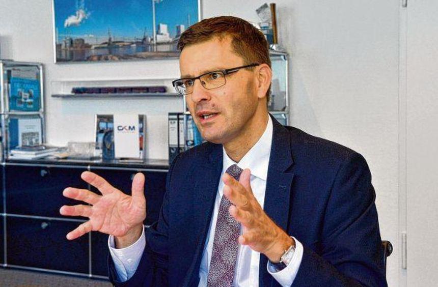 """""""Wenn keine Sonne scheint und kein Wind weht, springt Block 9 ein """": Markus Binder, kaufmännischer ..."""