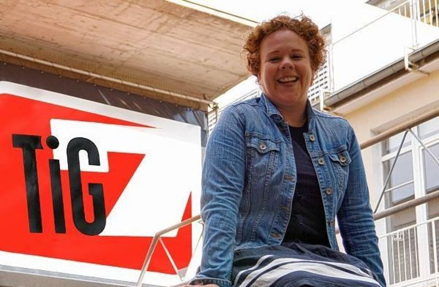 Sie hat viel vor an ihrer neuen Wirkungsstätte: Christine Bossert, die neue Leiterin des Theaters ...