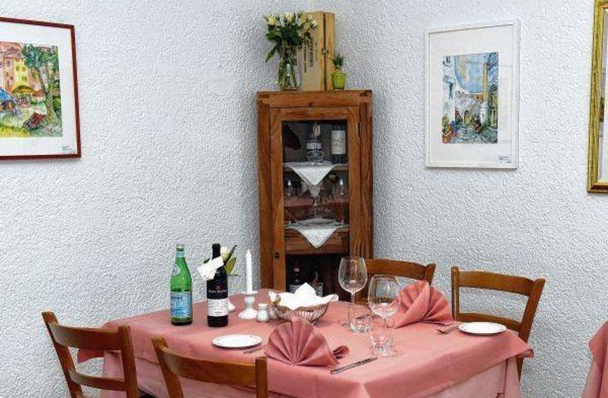 Das Restaurant in Mannheim Käfertal bietet Platz für circa 40 Personen.