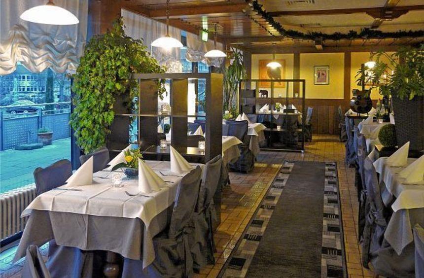 Im Restaurant haben bis zu 100 Personen Platz.