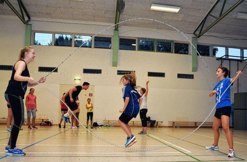 Zum Start nach den Sommerferien gab es beim Turnverein Sonderbach ein weltmeisterliches Training im ...