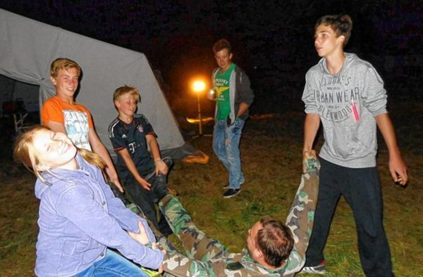 Spiel und Spaß gab es reichlich beim Sommerzeltlager der KjG St. Martin in Michelfeld.