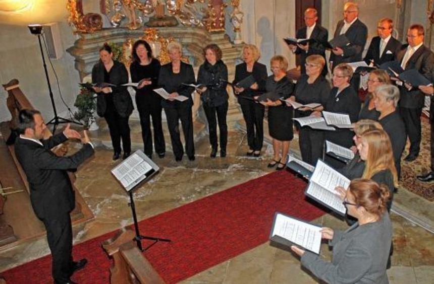 """Der Kammerchor """"ludensis"""" besteht seit 2010 unter Leitung von Christian Abelein. Er sang, im ..."""
