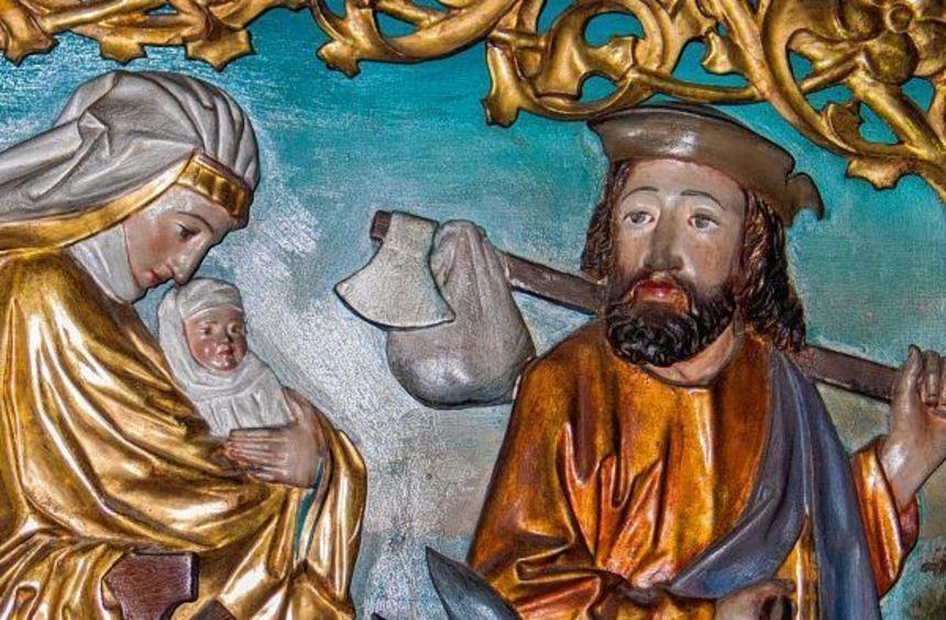 Jesus galt schon als Kleinkind als Flüchtling. Die Heilige Familie macht sich mit Sack und Pack ...