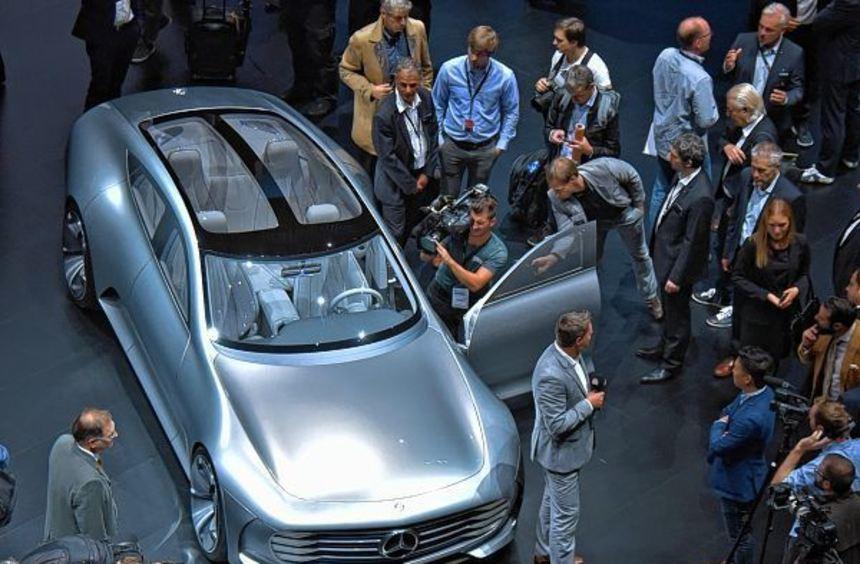 """Mit seiner """"Vision IAA"""" blickt Mercedes in die Zukunft des Automobils."""