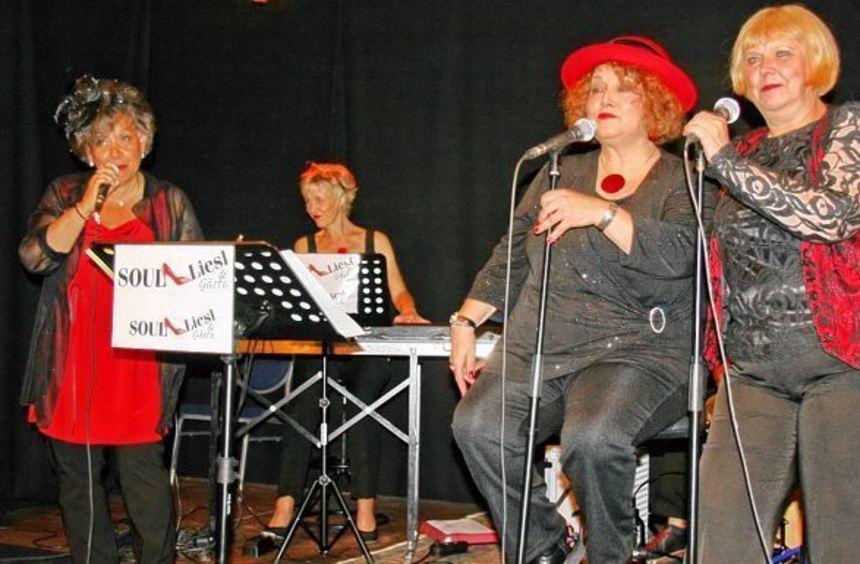 """Die vier Damen von """"Soul Liesl"""" sind absolute Powerfrauen. Ein musikalischer Abend mit ihnen ..."""