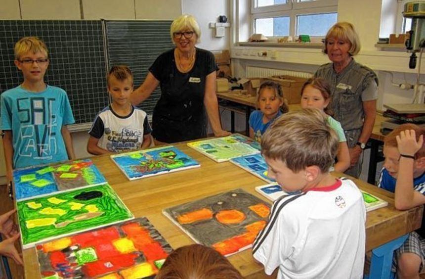 24 Kinder nahmen das Angebot der verlässlichen Ferienbetreuung des Mehrgenerationenhauses wahr. ...
