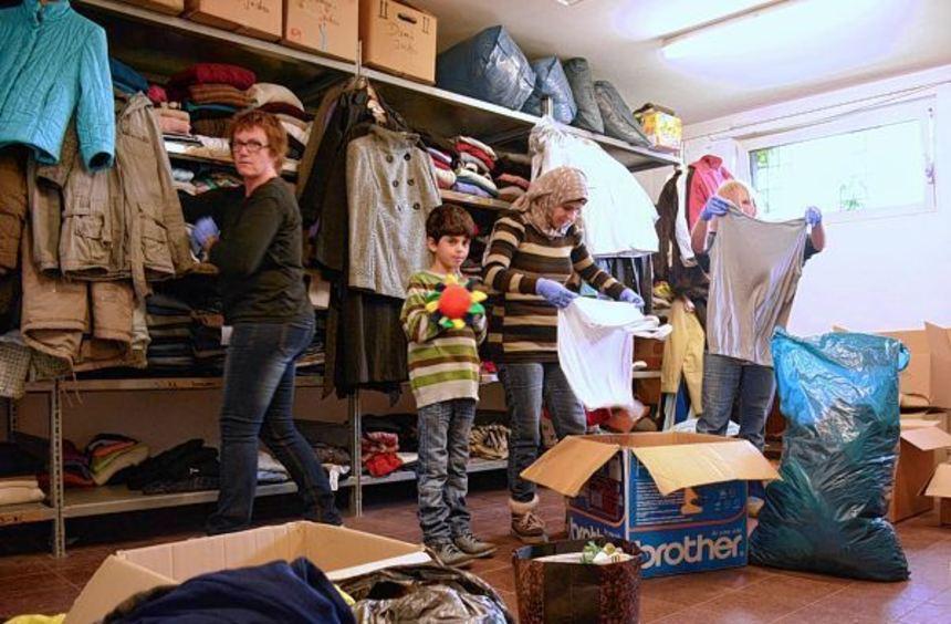 Willkommen in Wertheim ist mit seinem Kleiderlager umgezogen: Die Spenden werden nun nicht mehr im ...