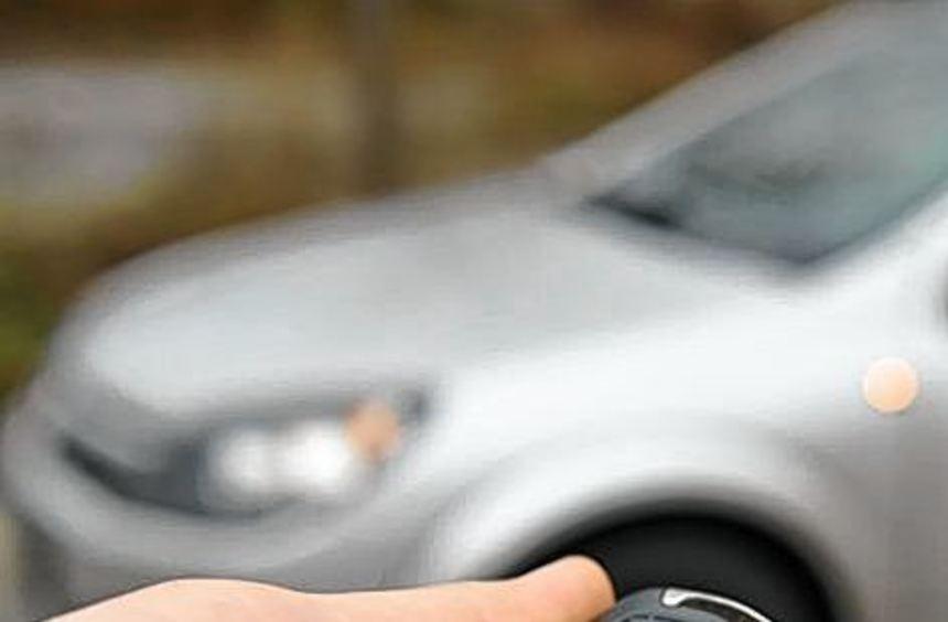 Per Knopfdruck Türen öffnen: Funk-Auto-schlüssel bergen auch Risiken.