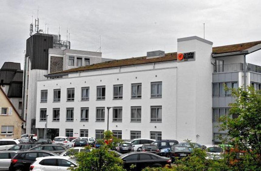 Auf dem knapp 8000 Quadratmeter großen Klinik-Gelände - mitten in der Stadt - soll nach dem Abriss ...