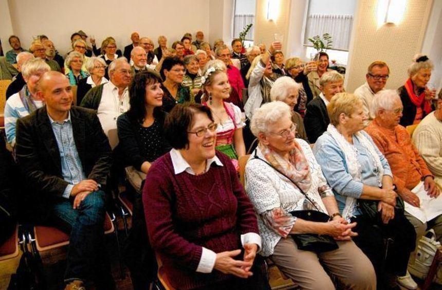 Von ernst über melancholisch bis lustig: Dem Publikum gefiel das Repertoire von Tatjana ...