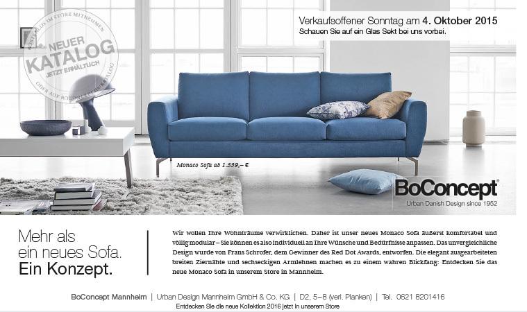 boconcept mannheim anzeige des monats anzeigen. Black Bedroom Furniture Sets. Home Design Ideas